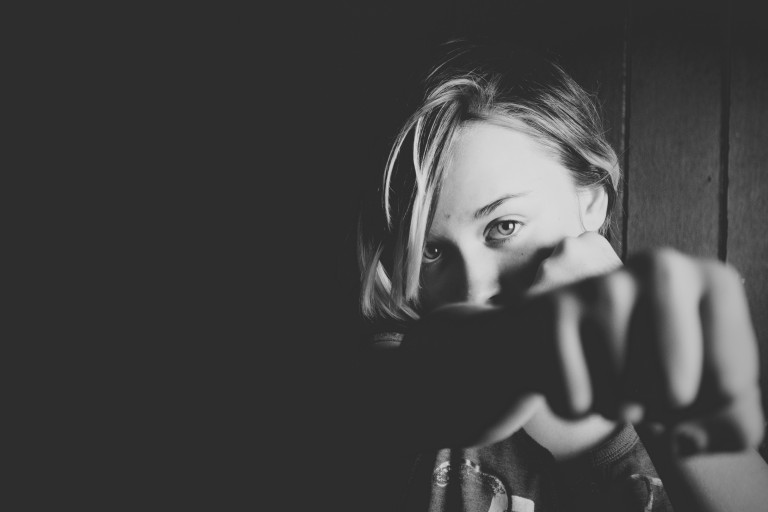 infant, foto en blanc i negre
